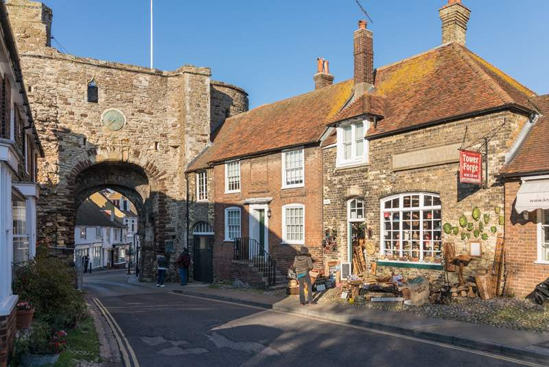 The medieval town of Rye.