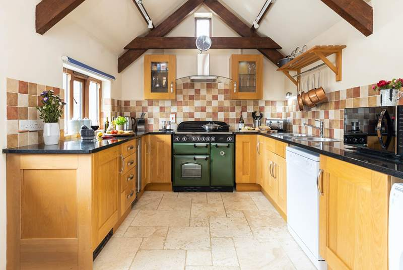 Welcome to The Granary the gorgeous well-equipped kitchen allows you to cook up a storm!