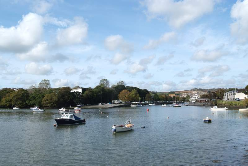 Kingsbridge on the south Devon coast.