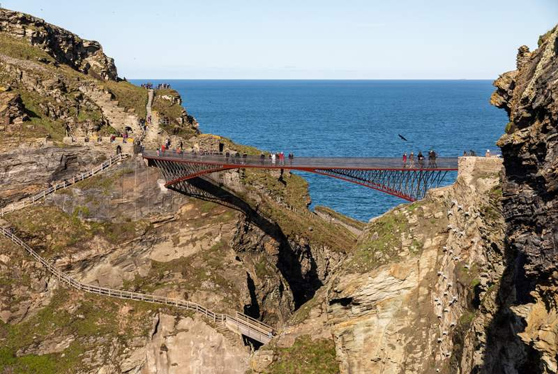 Pay a visit to Tintagel to uncover the fantastic history.