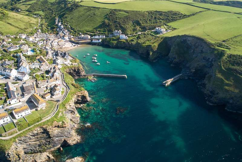 Explore the gorgeous fishing village of Port Isaac.