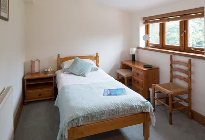 The single bedroom (bedrooom 2).