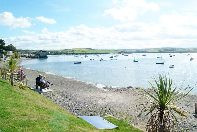 Rock - where you can try your hand at sailing or take the foot ferry across to Padstow.