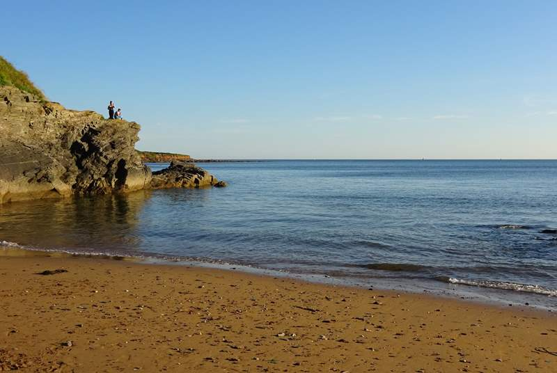 Bovisand beach is a great place for young and old and is only a short walk from your doorstep.