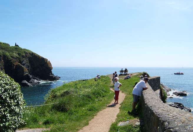 The Todden, which divides the cove, is a popular spot with locals and visitors alike.