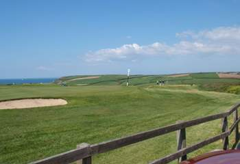 Mullion Golf Club is just up the road if you fancy a round of golf with rather special views.