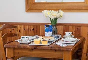 Time to enjoy a Cornish cream tea, remember jam then cream.