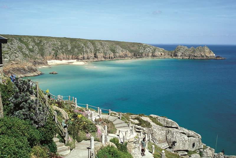 Why not catch a show at the wonderful Minack Theatre?