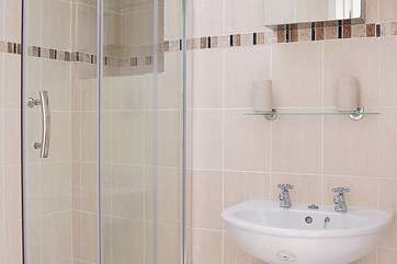 The shower-room and the separate loo are off the utility-room.