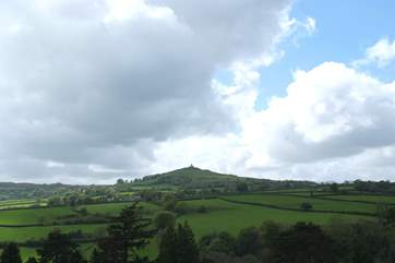 The church on top of Brentor is a local landmark.