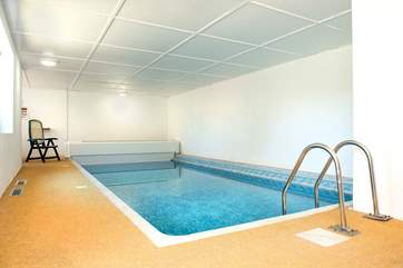 Whatever the weather you can always enjoy the indoor pool
