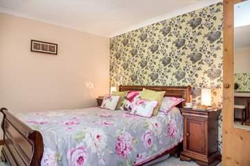 Bedroom 2 has a super comfy bed