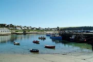 St Mawes on the Roseland peninsula.