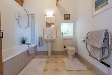 The family bathroom on the ground floor.