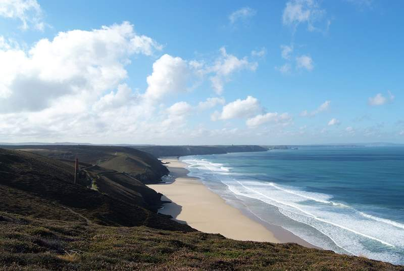 Fabulous clifftop walks on the north coast.