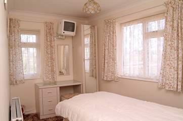Bedroom 1 is on the ground floor.