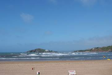 Bantham Beach is within an easy drive.