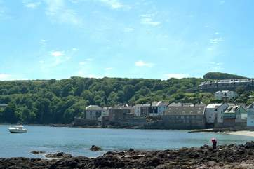 Looking across towards Cawsand from Kingsand.