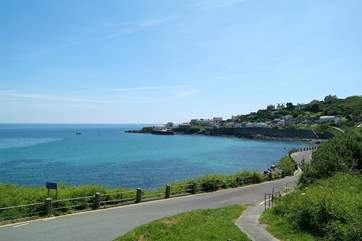 The scenic seaside village of Coverack.
