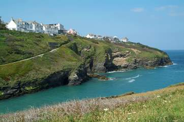 Port Isaac village is only a short drive away from The Haven.