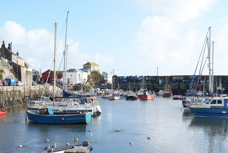Mevagissey is a quintessential fishing village just a few miles from Fowey