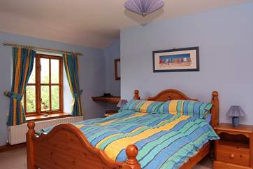 One of the double bedrooms (Bedroom 4).