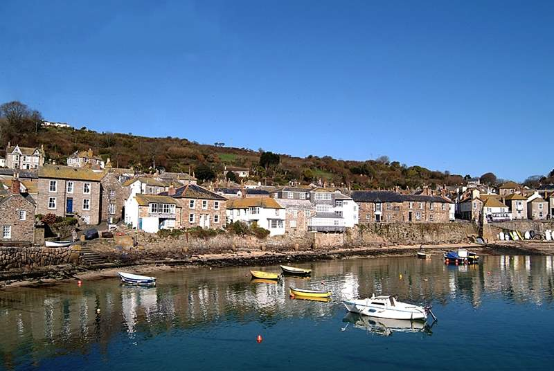 The harbour at nearby Mousehole.