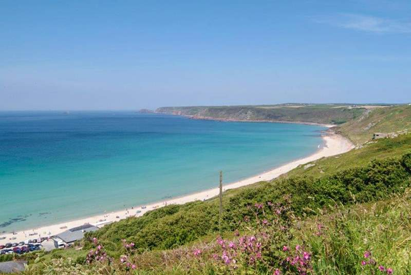 Sennen Cove is eight miles distant.