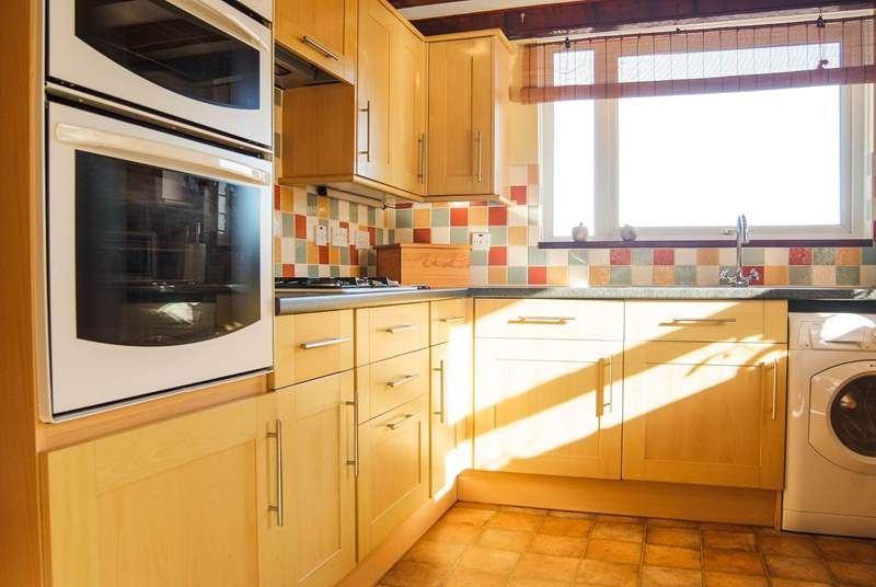 The kitchen is fully fitted and very well equipped.