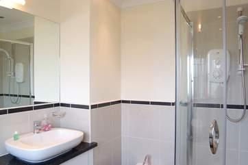 The master en-suite shower-room.