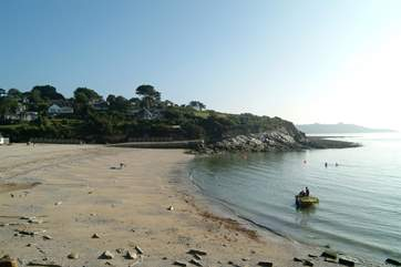 Swanpool beach is popular for kayaking and windsurfing.