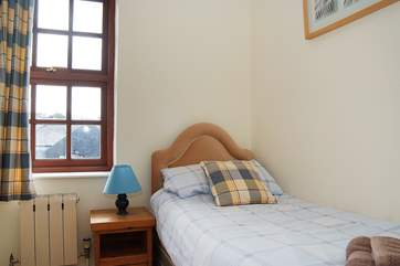 Bedroom 4 is very small and has a 2'6'' single bed, recommended for children only.