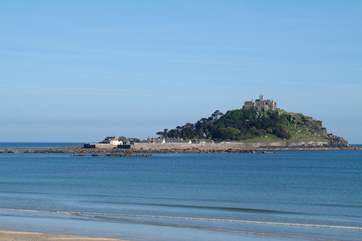 St Michael's Mount is within easy driving distance.