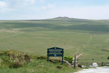 Roughtor provides miles of walking and exploring.
