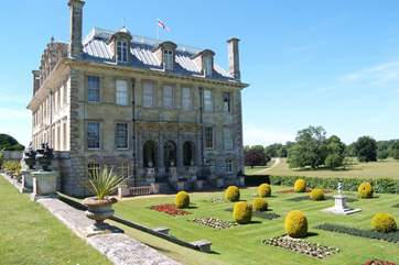 Kingston Lacy House is just the other side of the interesting town of Blandford Forum.