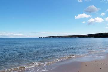 The lovely beaches of Dorset's Studland peninsula are an easy drive from the cottage.