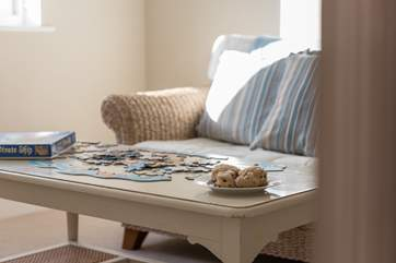 Relax and unwind with a jigsaw puzzle!