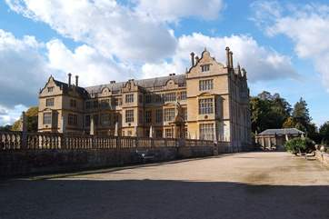 The National Trust's Montacute House is an easy drive into south Somerset.