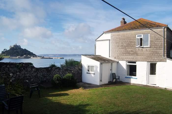 Cottages near St Michael's Mount