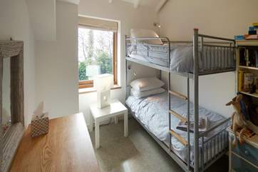 Bedroom 2 is furnished with bunk-beds (recommended for children only).