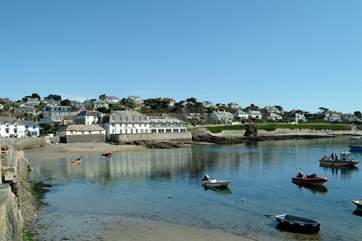 St Mawes is just a couple of miles away, a lovely place to explore.