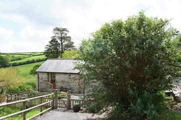 Although the Owners are across the lane, this is a very secluded cottage.