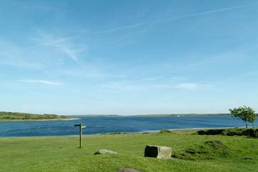 Nearby Colliford Lake is ideal for picnics on a summer's day.