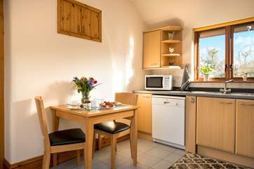 The kitchen diner is very spacious and has all you need to cook up some culinary delights