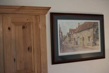 Old Cornish prints.
