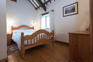 Bedroom 3 has a double bed.