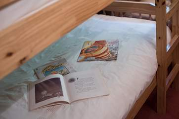 Children will enjoy reading the story books provided.