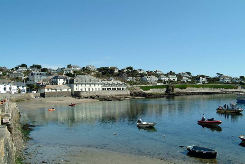 St Mawes can be easily reached from Falmouth by ferry.