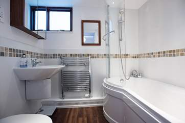 The en suite bathroom to Bedroom 1.