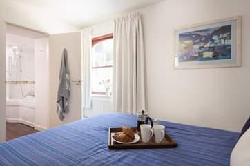 The master bedroom has an ensuite bathroom (Bedroom 1).